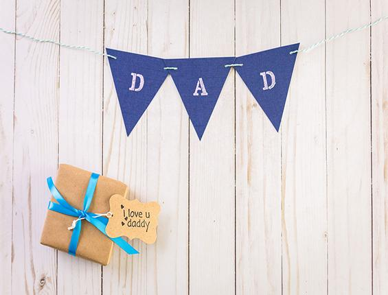 Katebackdrop:Kate Father'S Day Dad Letter Banner Gift Backdrop