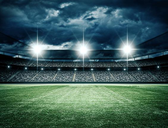 Katebackdrop:Kate Light Light Dark Footballfield Backdrop Sport