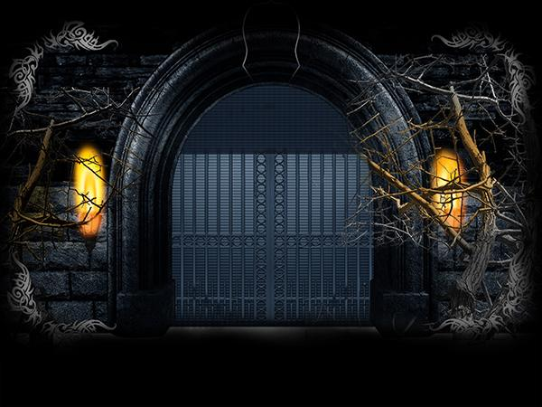 Katebackdrop:Kate Black Photography Backdrop Gate Photo Background