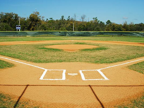 Katebackdrop:Kate Baseball Sports Court Backdrop Playground Outside