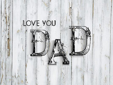 Katebackdrop:Kate Happy Father'S Day White Old Wood Floor Background