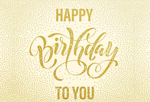 Katebackdrop:Kate Golden Point White Background for Birthday Photography