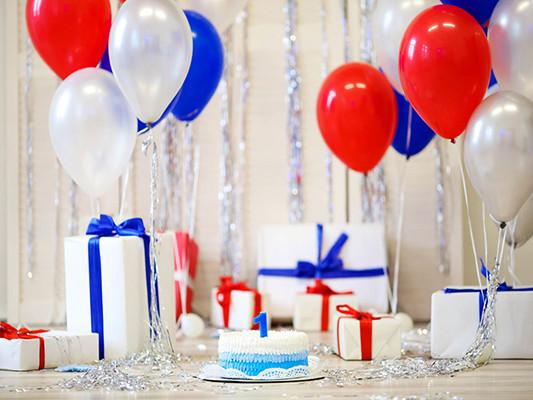 Katebackdrop:Kate Birthday Balloons Backdrops Photography Birthday Party Backdrops