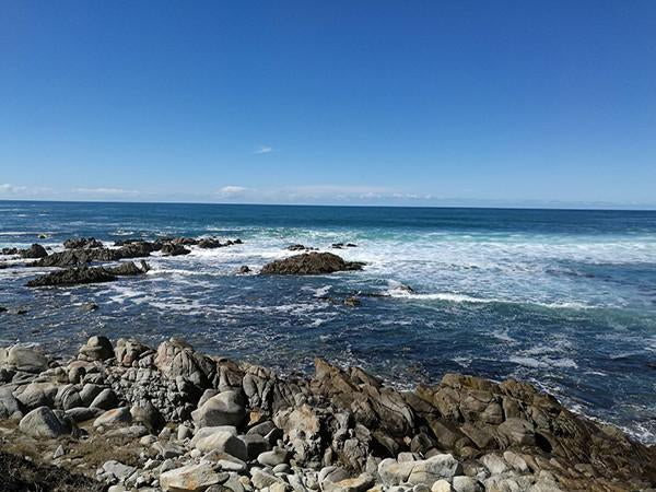 Katebackdrop:Kate Sea Beach Photography Backdrops Rock Blue Sky Studio