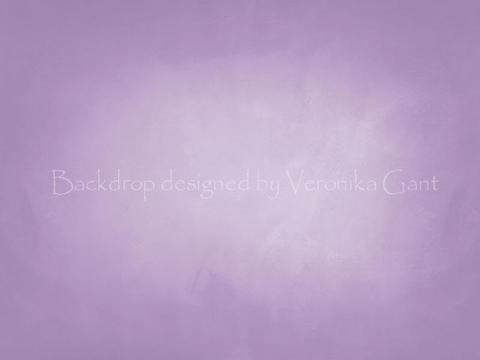 Kate Soft Purple Texture Backdrop von Veronika Gant entworfen