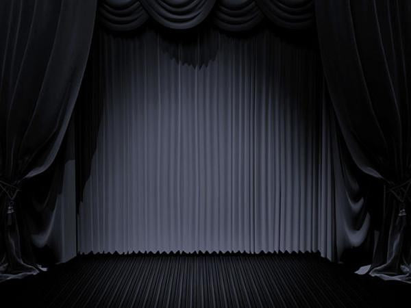Katebackdrop:Kate Dull Stage Cutain Photo Backdrops Background