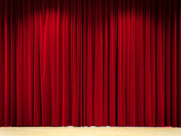 Katebackdrop:Kate Red Stage Curtain Cloth theater Backdrop for Photography