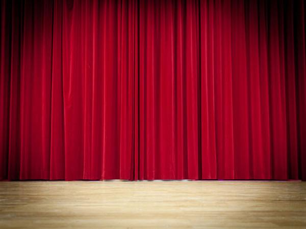 Katebackdrop:Kate Stage Hall Curtrain Wood Floor Backdrops