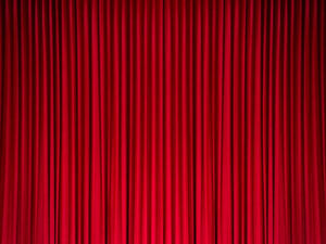 Katebackdrop:Kate Backdrops Solid Red Curtain Stage Decoraion Photo Background