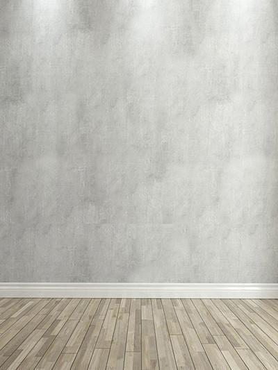 Katebackdrop:Kate Gray Background Wall With Wooden Floor Children