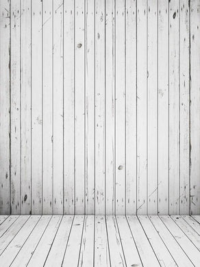 Katebackdrop:Kate Wood Wall Photography Backdrops White Floor Backgrounds