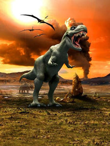 Katebackdrop:Kate World Tyrannosaurus Rex For Children Photography Backdrops