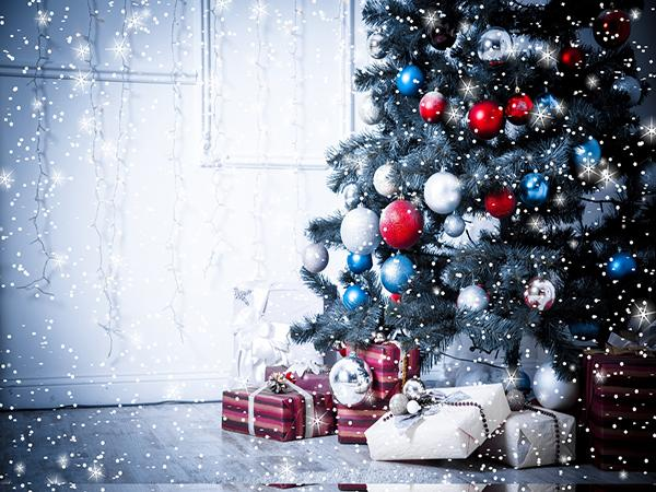 Katebackdrop:Kate Christmas Tree Backdrop Light indoor for Photography