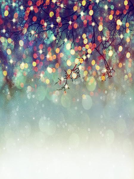Katebackdrop:Kate Branch Bokeh Backdrop Color Glitter for Children