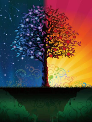Katebackdrop:Kate Children Colorful Tree Photography Backdrops