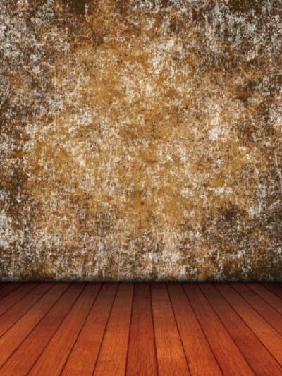 Katebackdrop:Kate Brown Golden Abstract Backdrop Brown Wood Floor Photo For Studio