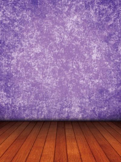 Katebackdrop:Kate Deep Purple Texture Background Brown Floor