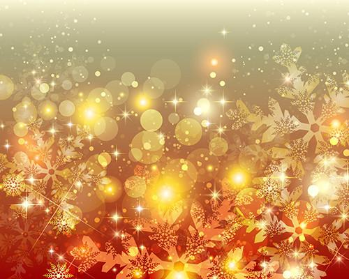 Katebackdrop:Kate Golden Bokeh Background Yellow Flashes Backdrop