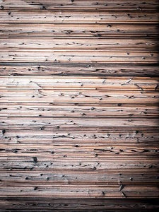 Katebackdrop:Kate Brown Wooden Wall Photography Backdrop