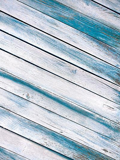 Katebackdrop:Kate Old Blue Wood Floor Background Children Backdrops
