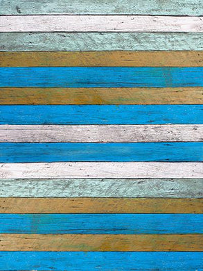 Katebackdrop:Kate Children Backdrops Old Blue Wood Floor Background