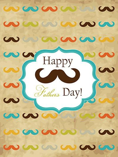Katebackdrop:Kate Mustache Photography Backdrop For Father'S Day