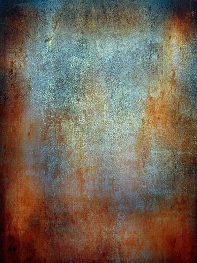 Katebackdrop:Kate Vintage Rust Red Textured Wall Rusty Background for Studio