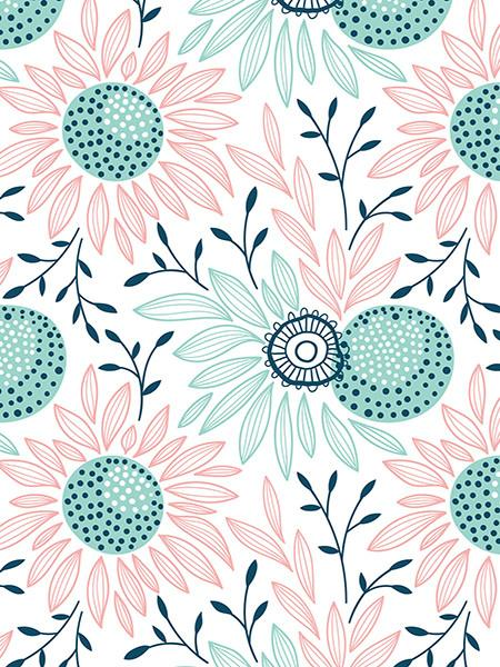 Katebackdrop:Kate Backdrops Lotus Photos Pattern Backdrops For Photography