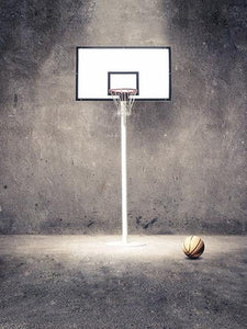 Katebackdrop:Kate Cement Wall Background Basketball sports Backdrops For Photography