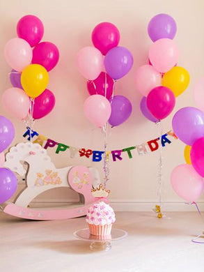 Katebackdrop:Kate Background For Photography Colorful Balloons For Kids Birthday Backdrop