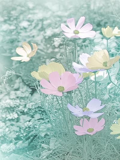 Katebackdrop:Kate Green Virtual Background Flower Backdrop