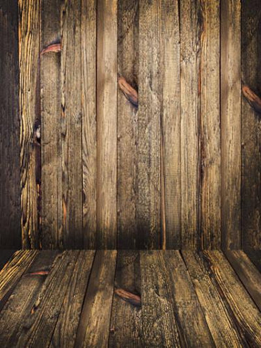 Katebackdrop:Kate Retro Style Green Wood Wall Floor Backdrop