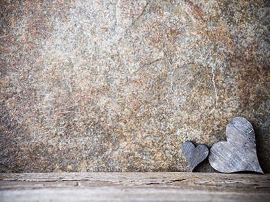 Katebackdrop:Kate Valentine'S Day Heart Stone Wall Backdrops
