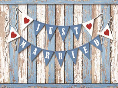 Katebackdrop:Kate Custom Wood Background Add Words Wedding Flag Backdrops Photography