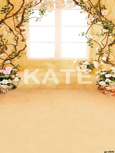 Katebackdrop:Kate Indoor Flower Windoor Backdrop Newborn