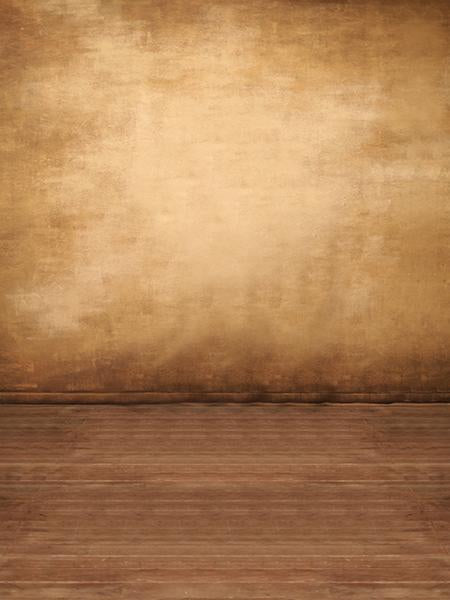 Katebackdrop:Kate Brown texture Background Wall with floor
