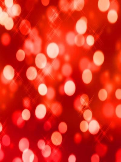 Katebackdrop:Kate Parties Red Wall Light Spot Valentine's Day Backdrops