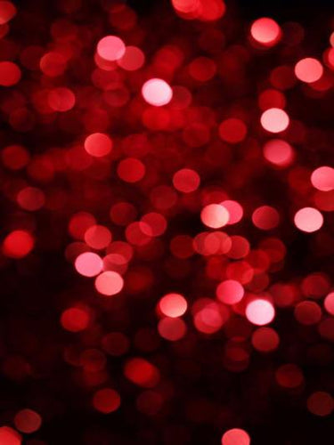 5X7ft Red and Pink Christmas Bokeh Backdrop MR-0296