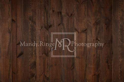 Katebackdrop¡êoKate Dark Brown Stained Wood Backdrop Designed By Mandy Ringe Photography
