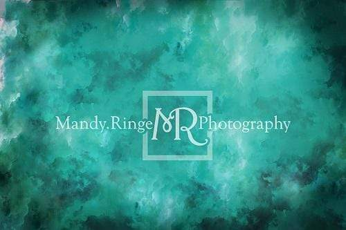 Katebackdrop£ºKate Teal and Black Texture Backdrop Designed By Mandy Ringe Photography