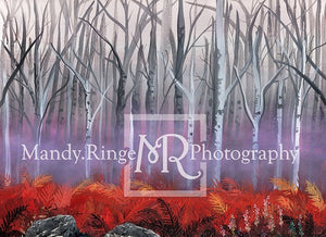 Kate Autumn Enchanted Forest Backdrop für Fotografie Entworfen von Mandy Ringe Photography