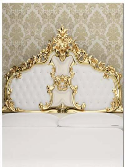 Katebackdrop:Kate Newborn White Golden Headboard Backdrops
