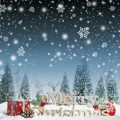 Katebackdrop:Kate snowflake background for photography Merry Christmas