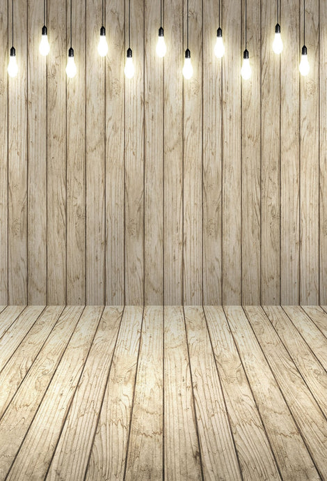 Katebackdrop:Lights Wood backdrop for photography