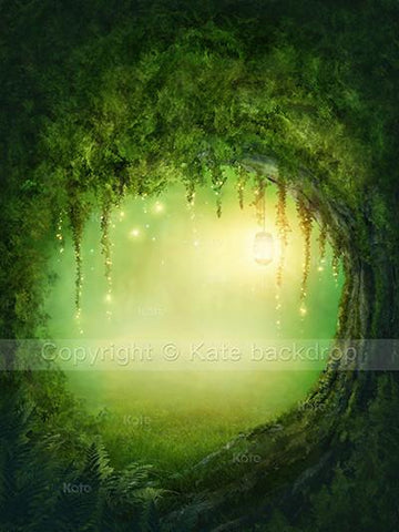 Katebackdrop Kate Fanstic Forest Scenery Backdrop Cricle Tree Dreamlike