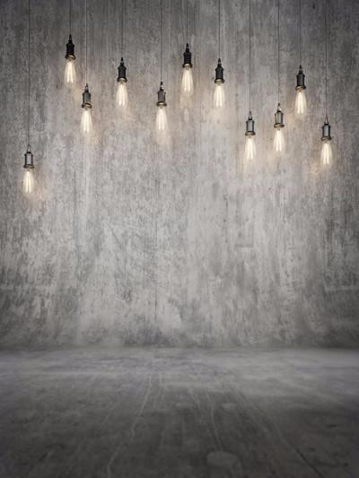 Katebackdrop:Kate Retro Texture Grey Wall Light Photography Backdrops
