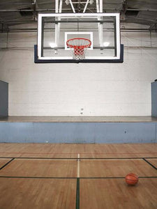 Katebackdrop:Kate Sports Basketball Court Wood Floor