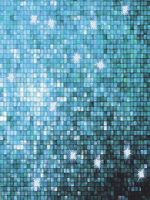 Katebackdrop:Kate Light Blue Grid Glitter Backdrops For Photography Studio