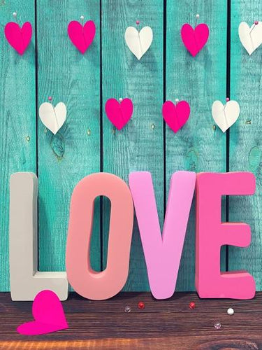 Katebackdrop:Kate Valentine'S Day Heart Love Photography Backdrops