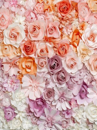 Katebackdrop:Kate Color Flower Background Photography Backdrop for Valentine's Day